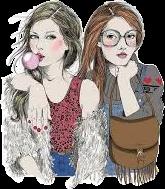 girls friends best tumblr freetoedit