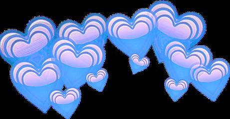 ободок сердце фиолетовый freetoedit