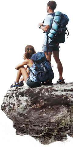 ftestickers mountain climbers freetoedit