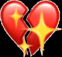 emoji sad broken heart brokenheart