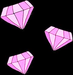 diamonds pink rose ftestickers stickers