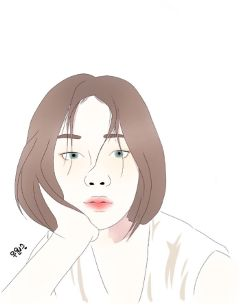 lines portrait mydrawing drawing neutral
