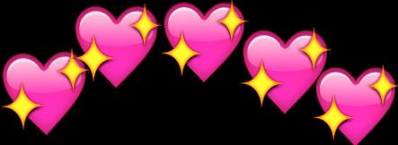 png edit emoji hearts glitter