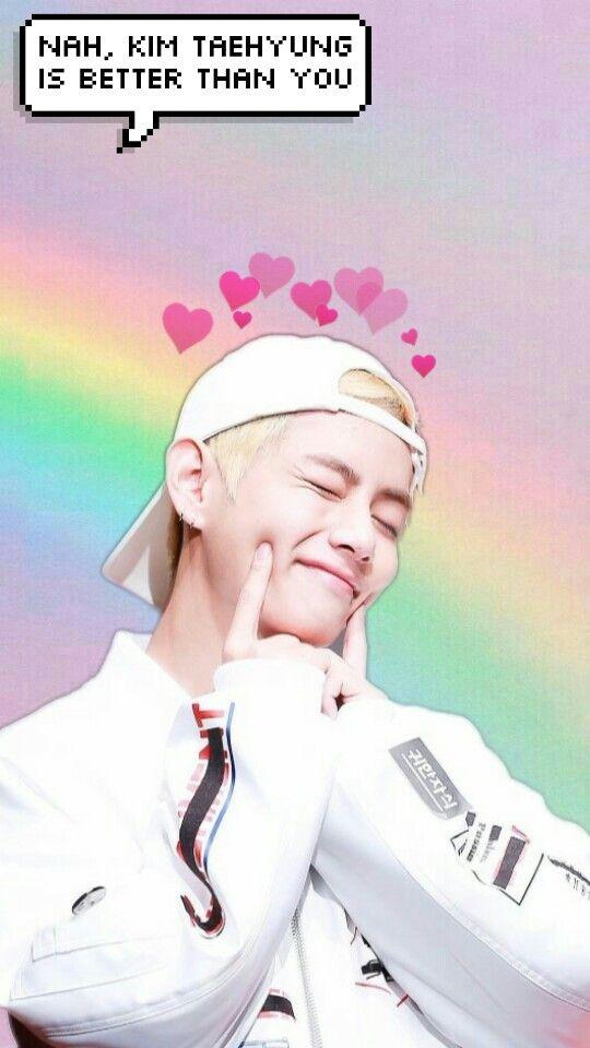 Mixed Taehyung Bts Wallpaper Wallpaperkpop
