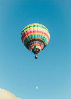 freetoedit balloon sky blue colorful