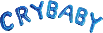 crybaby melaniemartinez blue ballons cool