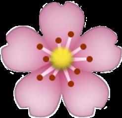 emoji flower flor freetoedit