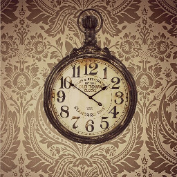 wallpaper clock home remixit dpcroomwallpaper freetoedit