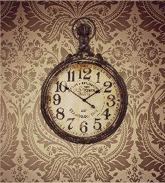wallpaper clock home remixit dpcroomwallpaper freetoedit