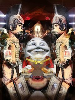 freetoedit antique mirrored artistic photoblend