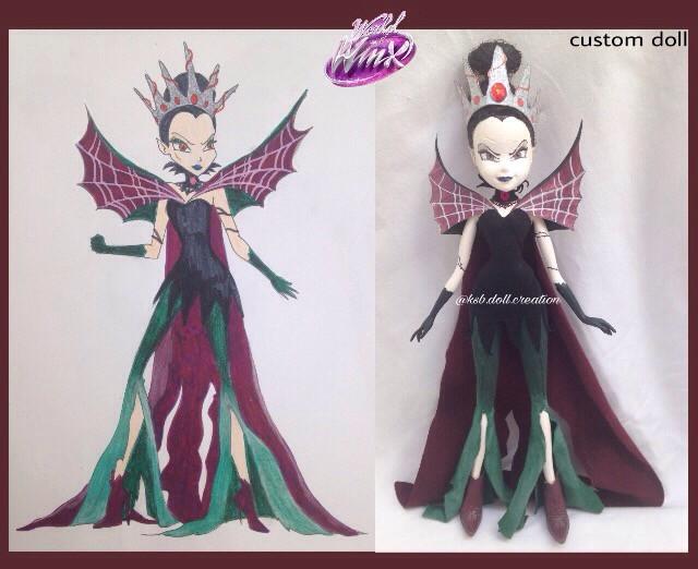 my custom worldofwinx Tinkerbell doll