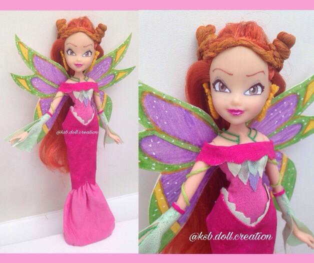 my custom winx sybilla doll