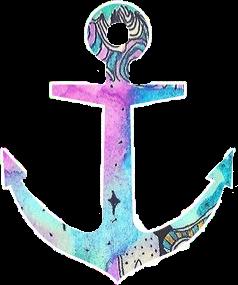ship anker pastel pink blue