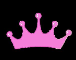 корона. розовый. freetoedit