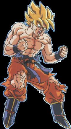 superhero goku freetoedit