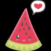 watermelon love freetoedit