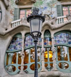 dpcbalconies gaudi architecture barcelona