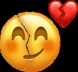imfine emoji sad heartbreak broken