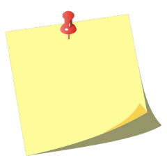 postit note paper yellow post