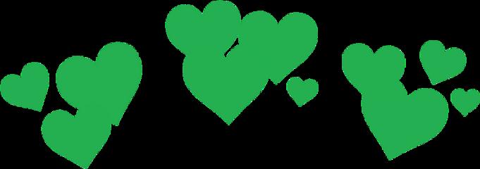 verde corazones freetoedit