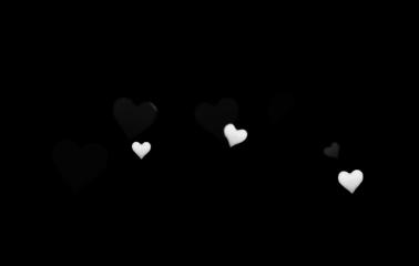 blackandwhite remixit heart heartcrown crown