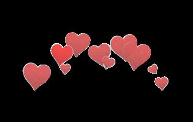 sticker heart heartoverlay red freetoedit
