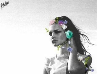 blackandwhite flowers surreal hollow editedwithpicsart wapwelcomenatasupernova freetoedit