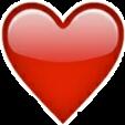 emoji heart cuore heartemoji emojiheart