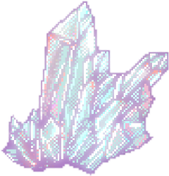 crystal pastel pixel kawii cute