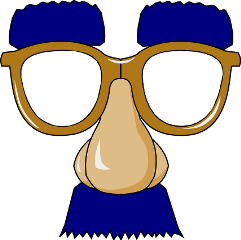 ftestickers face glasses nose eyebrows