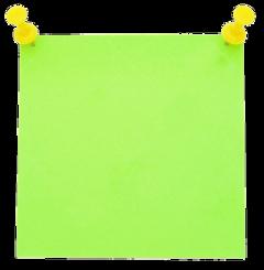 post postit post-it green paper