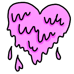 heart grime grimer grimeart pink
