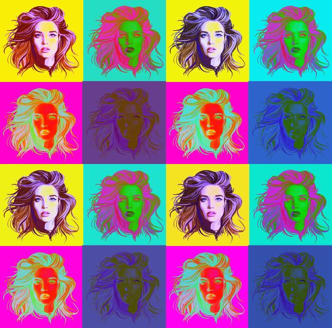 Warhol NataSuperNova - 2  #wapwelcomenatasupernova #warhol #warholesque #popart #natasupernova