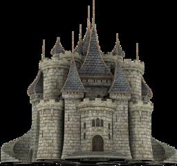 castle house surreal freetoedit
