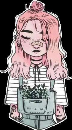 девочка кеды небо розовое freetoedit