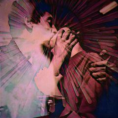 vintage vintagealtered kiss lomoeffect papereffect