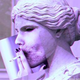 cigarette party neon heart broken