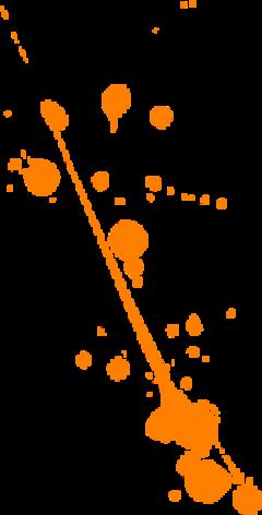 freetoedit orange paint splat remixit