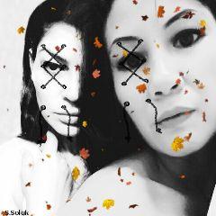 freetoedit blackandwhite portrait artisticselfie beautiful