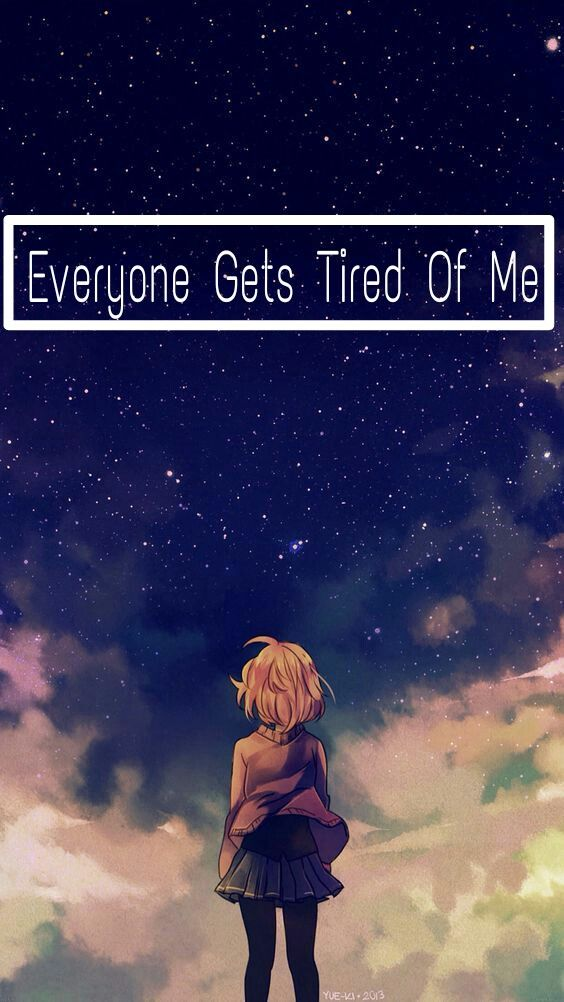 Sad Anime Wallpaper Sadanime Animewallpaper Sadanimewal