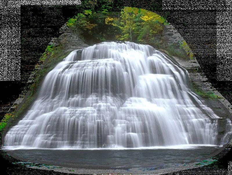 Открытки новый, водопад гифка без фона