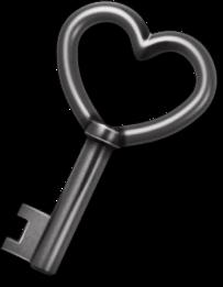 key llave heart corazon love