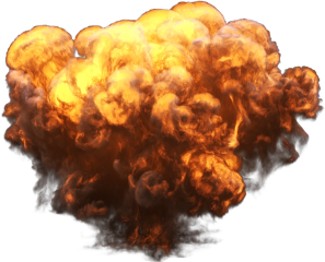 explosion toxic fire freetoedit