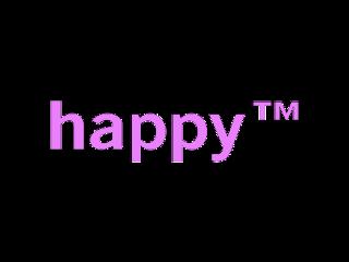 happy pink tm trademark freetoedit