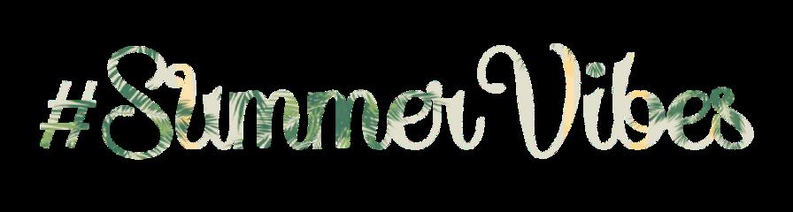ftestickers summer vibes summervibes text