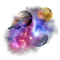 stardust stars spacestickers planets galaxy