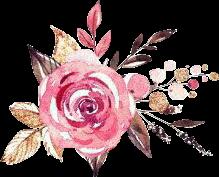 pinkflower pink gold glitter flowers
