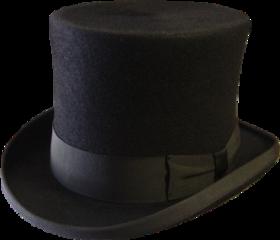 sticker blackhat tophat freetoedit