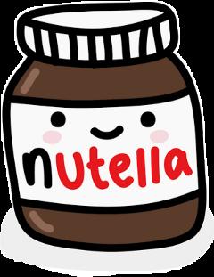nutella i❤u freetoedit i