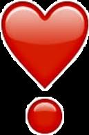 iphoneemoji emoji hearts freetoedit